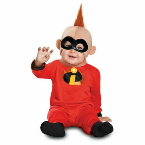 Disney Costumes Incredibles Baby Jack Costume Poshmark